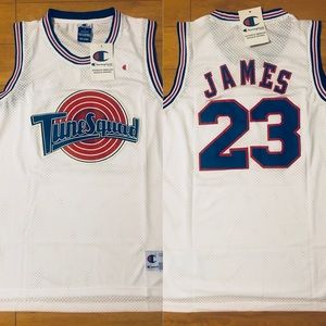 new concept 7a186 62a9a Lebron James Lakers Jersey - Space Jam NWT NWT